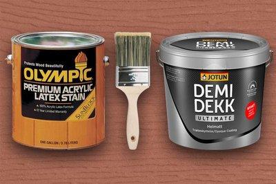 Zeer Olympic Premium Acrylic Latex Stain Overschilderen UE03