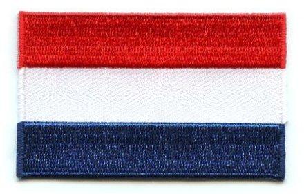 Flaggen-Patch Niederlande