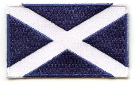 flag patch Scotland