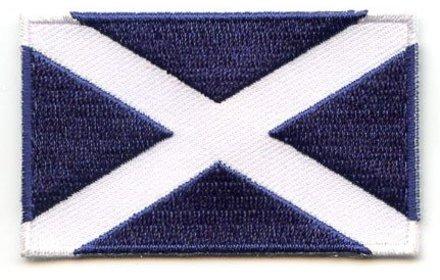Flaggenpatch Schottland