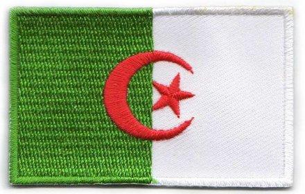 vlag patch Algerije