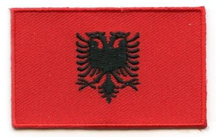 flag patch Albania