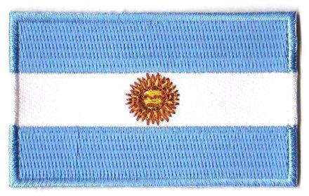 flag patch Argentina