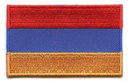 Flaggen-Patch Armenien