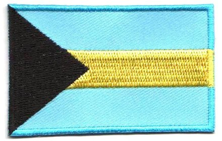 flag patch Bahamas