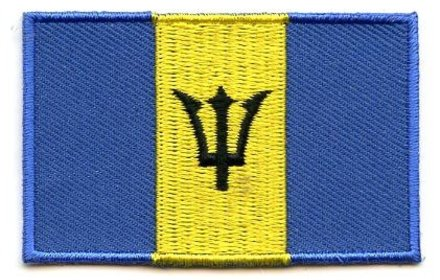 Flaggenpatch Barbados