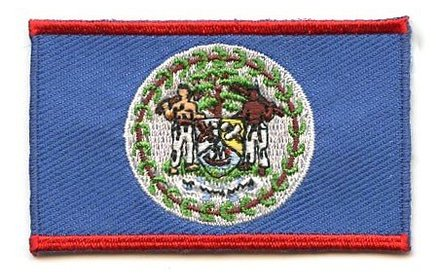 Flaggenpatch Belize