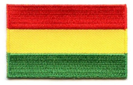Flaggenpatch Bolivien
