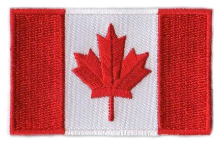 Flaggenpatch Kanada