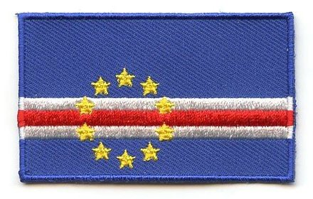 flag patch Cape Verde