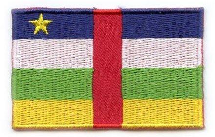 vlag patch Centraal-Afrikaanse Republiek