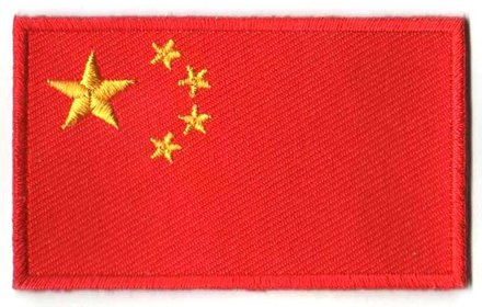 Flaggenpatch China