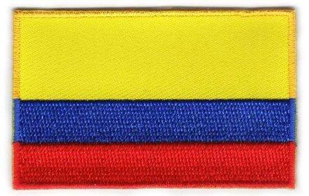 Flaggenpatch Kolumbien