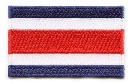 vlag patch Costa Rica