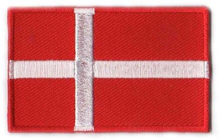 Flaggenpatch Dänemark