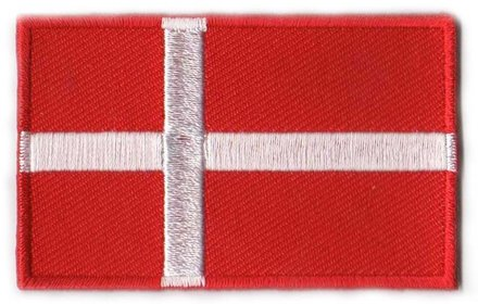 vlag patch Denemarken