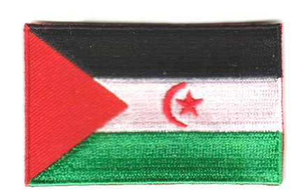 flag patch Sahrawi Arab Democratic Republic