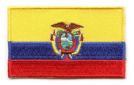 flag patch Ecuador