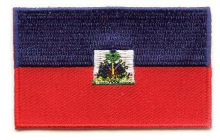flag patch Haïti