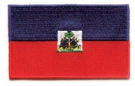 Flaggenpatch Haïti