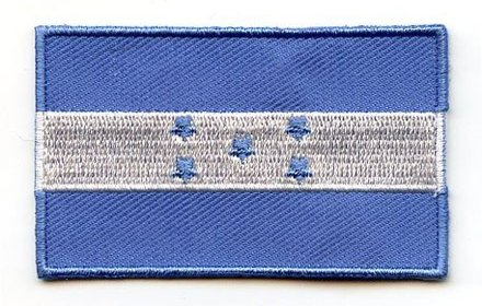 flag patch Honduras