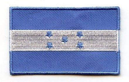 Flagge Patch Honduras