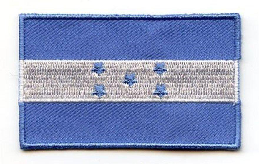 Honduras Flag embroidered iron-on Patch Honduran Emblem New
