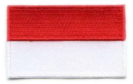 vlag patch Indonesië