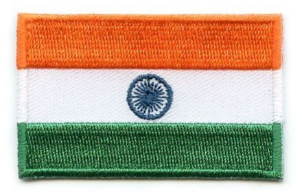 vlag patch India