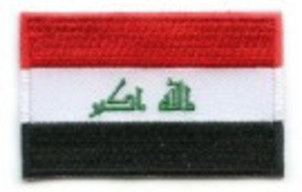 Flaggenflagge Irak