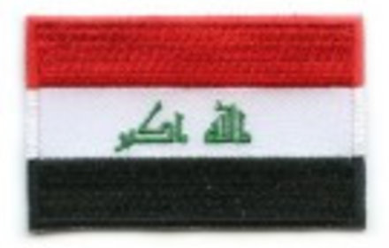 vlag patch Irak