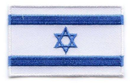 Flaggenpatch Israel