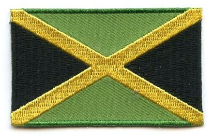 Flaggenpatch Jamaika