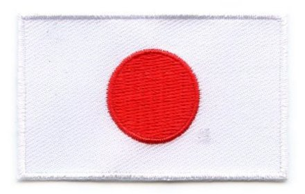 vlag patch Japan