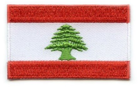 vlag patch Libanon
