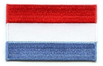 flag patch Luxembourg
