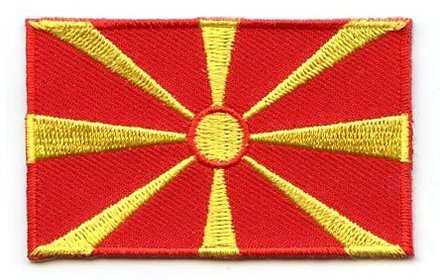 flag patch Macedonia