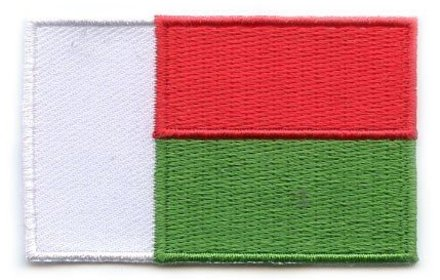 flag patch Madagascar