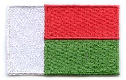 vlag patch Madagascar