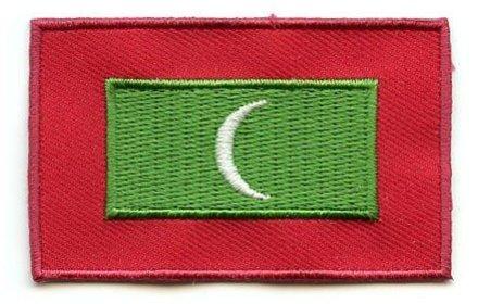 vlag patch Malediven