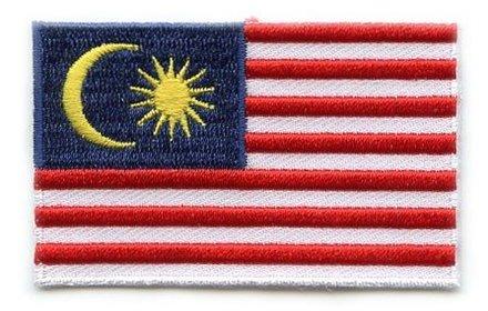 vlag patch Maleisië