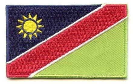 Flaggenpatch Namibia