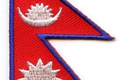 vlag patch Nepal