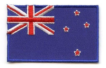 Flagge Patch Neuseeland