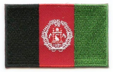 vlag patch Afghanistan
