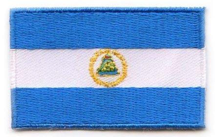 flag patch Nicaragua