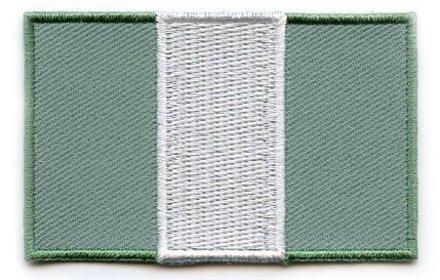 vlag patch Nigeria