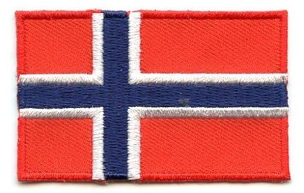 vlag patch Noorwegen