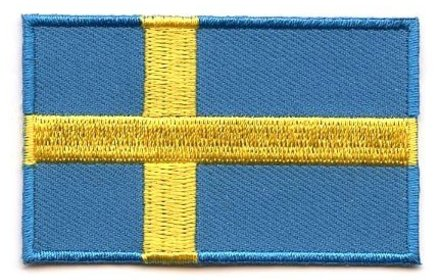Flaggen-Patch Schweden