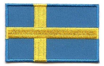 vlag patch Zweden